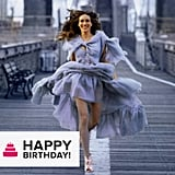 "The celebrity birthdays kept coming as we wished a ""happy birthday"" to style icon Sarah Jessica Parker."