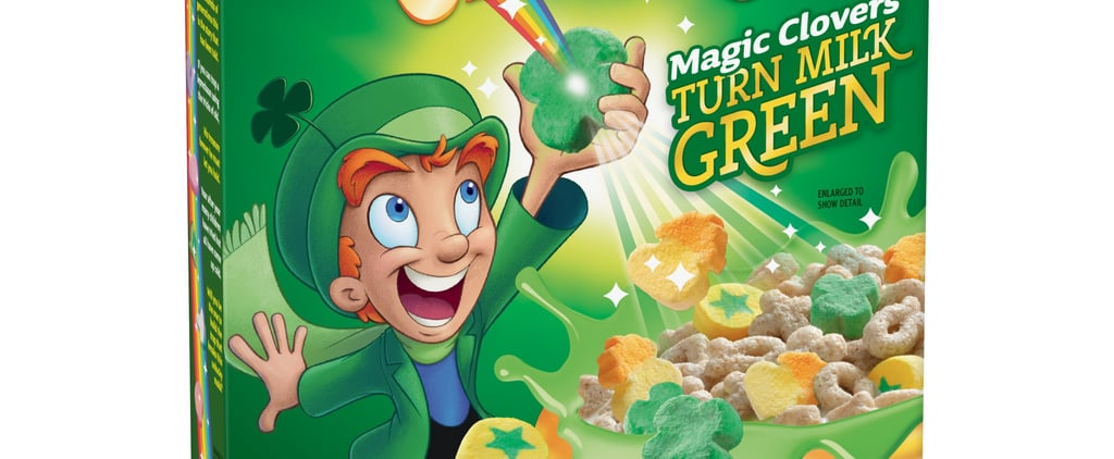 The New Lucky Charms Cereal Turns Your Milk Bright Green