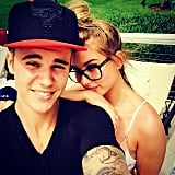 Justin Bieber and Hailey Baldwin in Miami Pictures