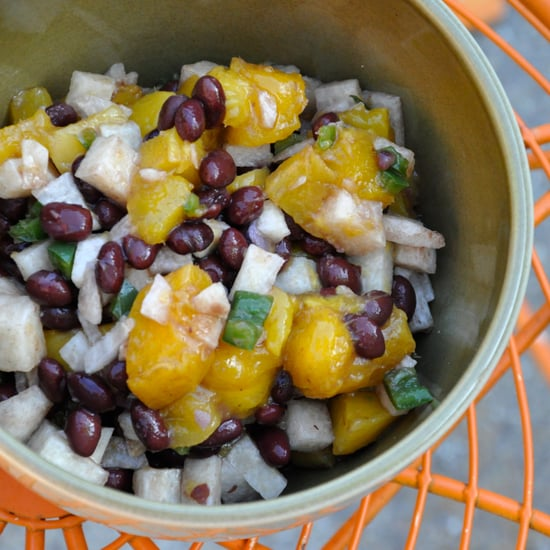 Mango, Black Bean, and Jicama Salsa