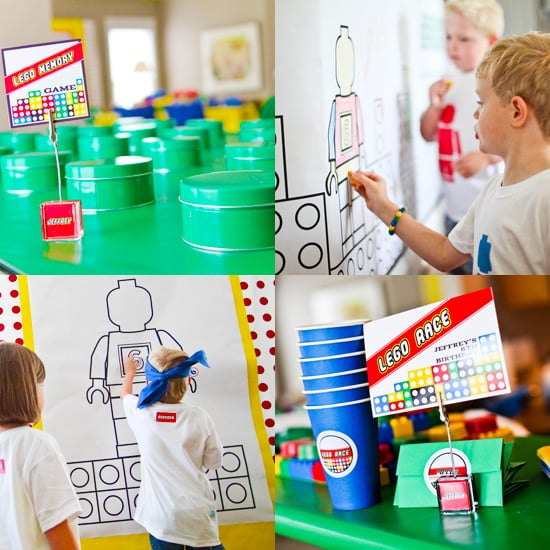 Play Well: A Lego Birthday Party That
