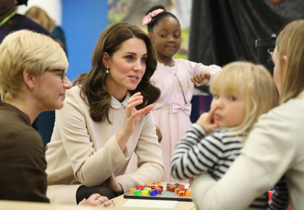 Kate Middleton at Hornsey Road Children's Centre