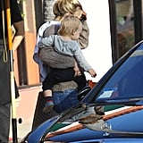 Kate Hudson carried Bing to the bar.