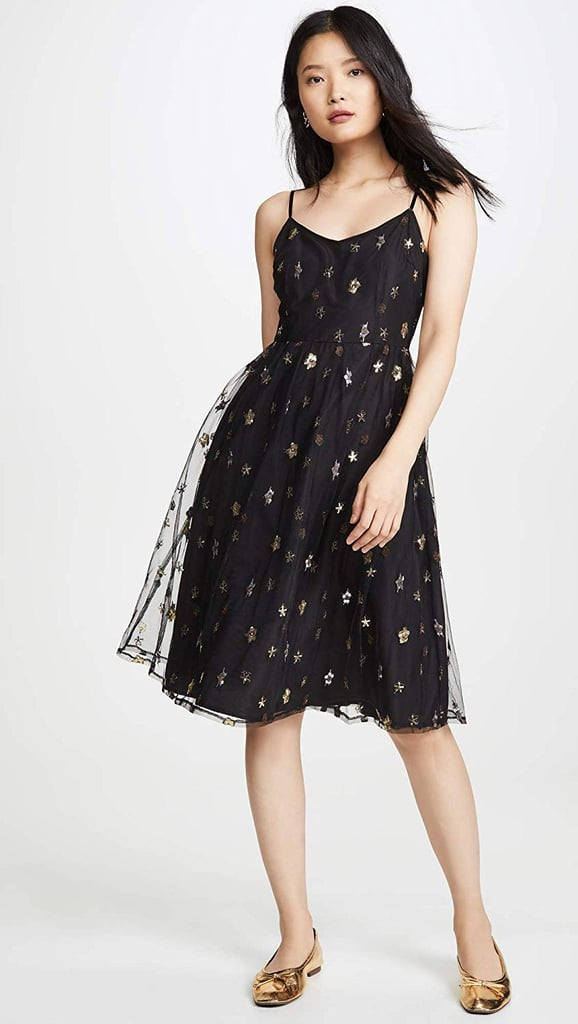 BB Dakota Metallic Star Dress