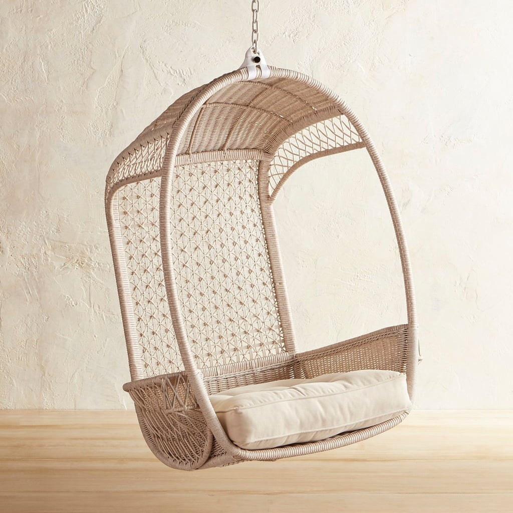 Pier 1 Swing Chair: Swingasan Luna Star Parchment Hanging Chair