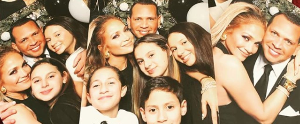 Jennifer Lopez and ARod on New Year's 2020 With Their Kids