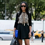 And now . . . our favorite part of New York Fashion Week — the street style!