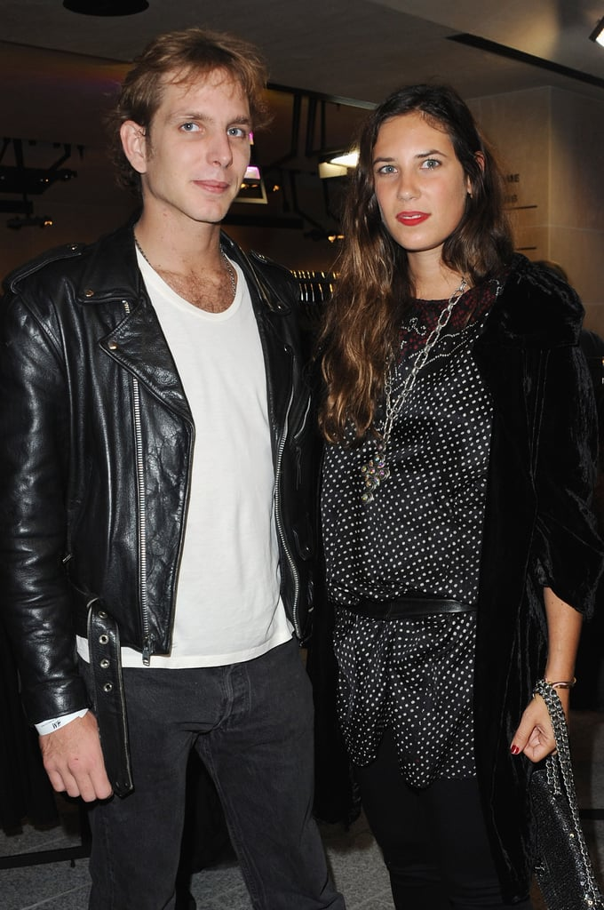 Andrea and Tatiana went to a Paris Fashion Week event in Paris in 2010.
