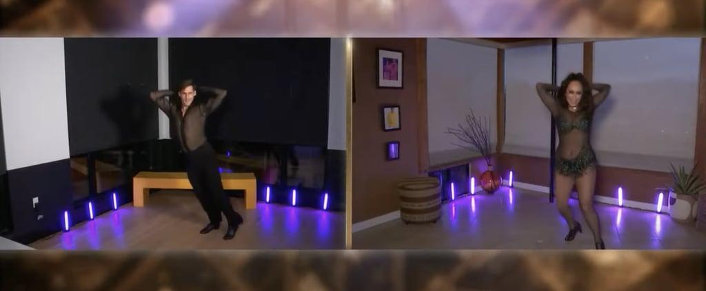 Watch Cody Rigsby's Virtual DWTS Jazz Britney Night Dance