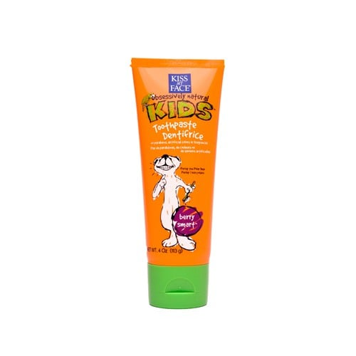 Kiss My Face Berry Treasure Toothpaste ($6)