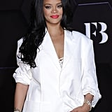 Rihanna's Striking Suited-Up Look in Seoul | Pictures
