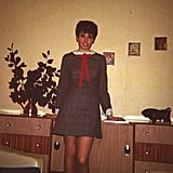 """'You could make that for a lot less money!' My mom taught me to sew as soon as I was big enough to sit behind the sewing machine, and she still bemoans how expensive things are. I'm pretty sure the dress in the picture was at least customized if not entirely handmade, and she even made her own wedding dress. I'm not as dedicated as she was at my age, but I do try to sew when I can. She also taught me never to pay full price for anything if I can help it, and to always, always make an effort when it comes to a costume . . . but never buy anything if you can DIY, of course.""  — Gemma Cartwright"