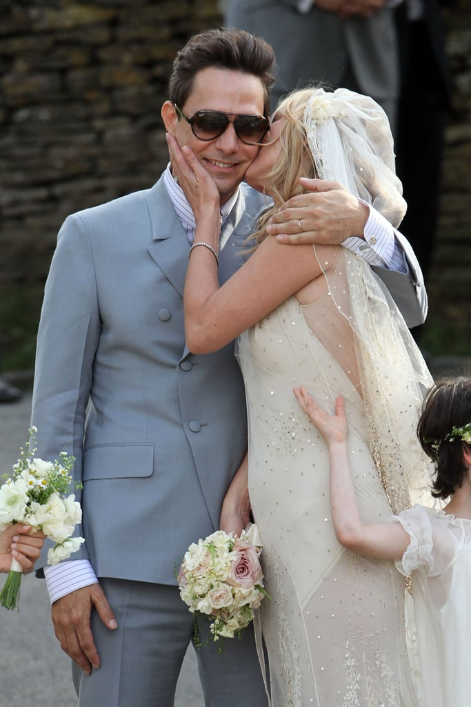 Kate Moss Wedding Dress Pictures With Husband Jamie Hince 2011-07-01 14:33:37