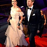 Mary and Frederik dressed up for the Crown Prince Couple Awards at the Sydney Opera House in Oct. 2013.