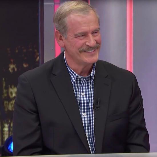Vicente Fox Talks About Donald Trump on Conan