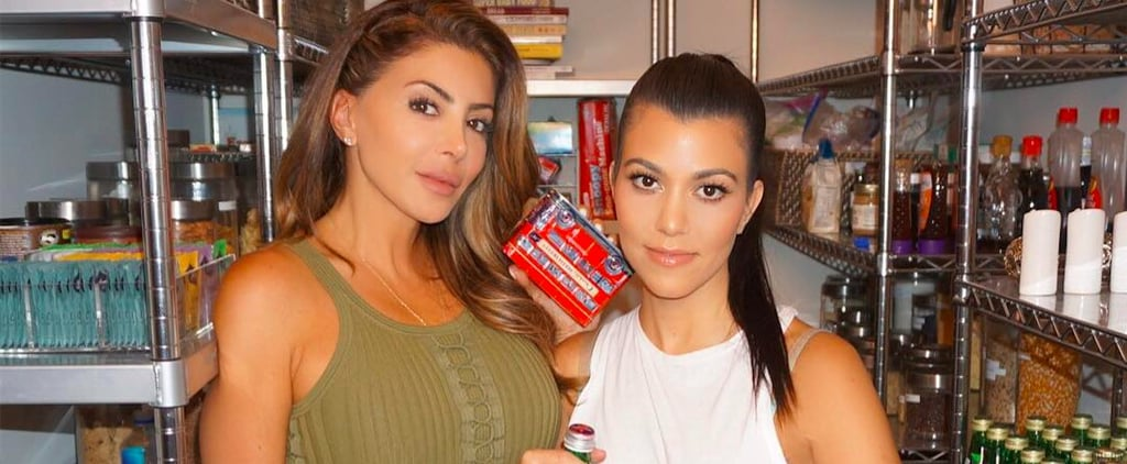 Kourtney Kardashian's Pantry