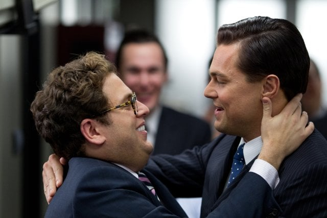 The Wolf of Wall Street  What it's about: Martin Scorsese teams up with Leonardo DiCaprio again for this crime drama set in the early '90s when business was booming for Wall Street. DiCaprio plays Jordan Belfort, whose quick rise as a stockbroker culminates in accusations of corruption and securities fraud. Why we're interested: If you haven't seen the trailer, watch it now because this film looks insane. I cannot wait to see Scorsese and DiCaprio work magic together again, Matthew McConaughey as a total weirdo, and Jonah Hill with those bizarre veneers. When it opens: Dec. 25 Watch the trailer for The Wolf of Wall Street.