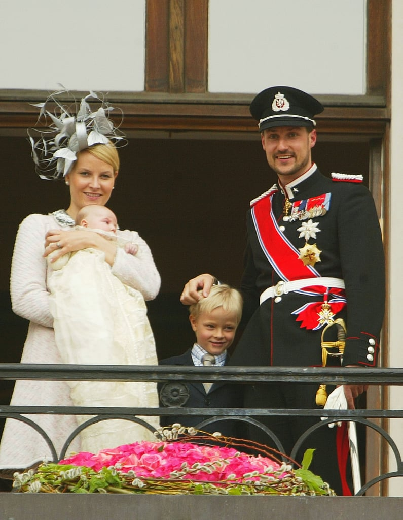 Princess Ingrid Alexandra of Norway, the daughter of Haakon, Crown Prince of Norway and Mette-Marit, Crown Princess of Norway, was christened on April 17, 2004, in Oslo.