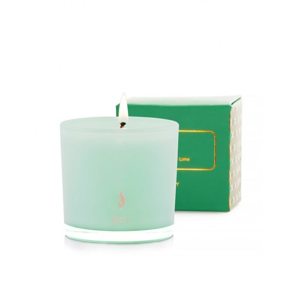 Dusk Coconut and Lime Verbena Mini Soy Candle ($19.99)