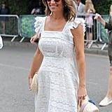 Pippa Middleton Anna Mason Dress at Wimbledon