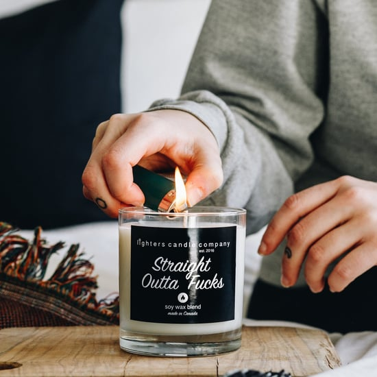 Swear Word Candles From Etsy