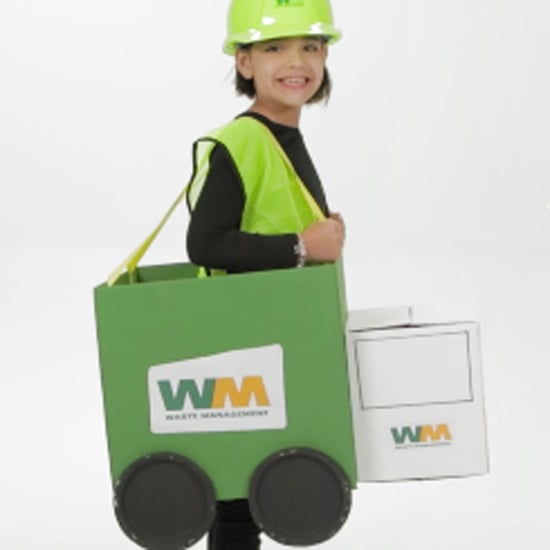 Garbage Man Halloween Costume For Kids