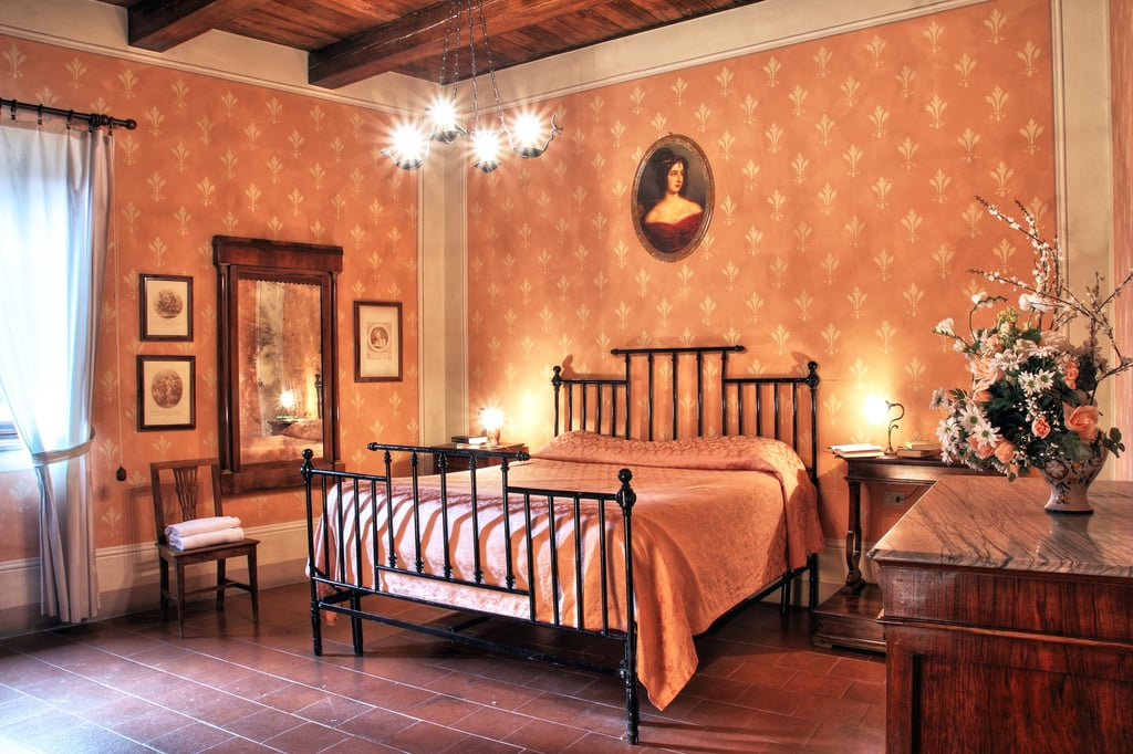 Comprised of medieval buildings within Castello di Petroia's walls, this is the perfect holiday location for any aspiring duchess. You'll get the best prices in November. Cost per night is $214.