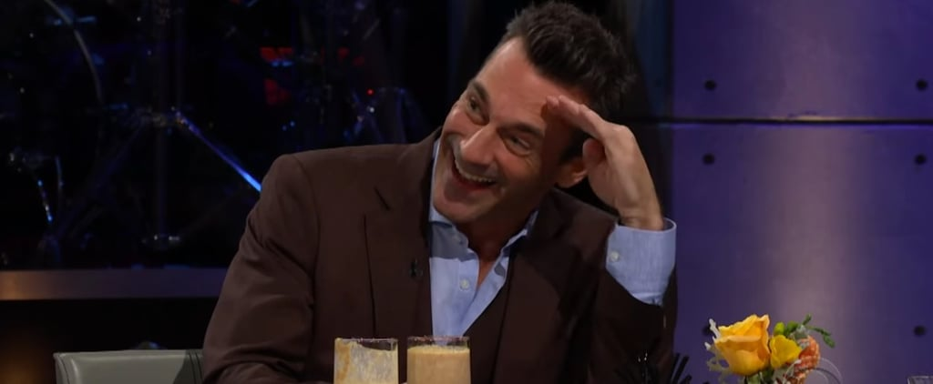 Jon Hamm Spill Your Guts on James Corden Video