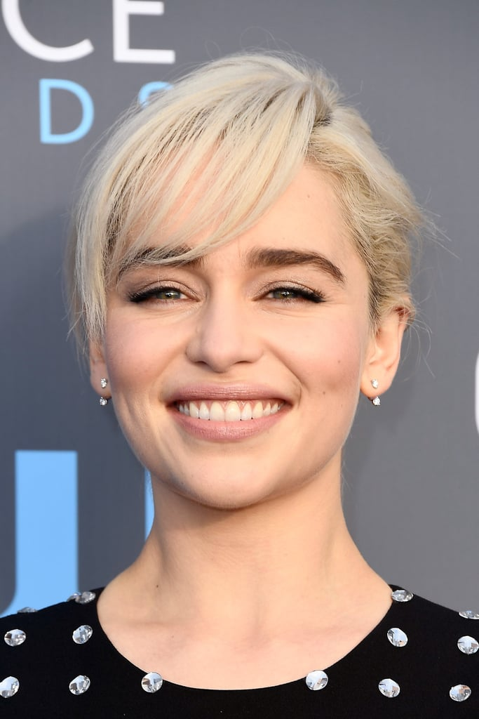 These Are the 3 Shades You Need For Emilia Clarke's Critics' Choice Awards Nude Lip