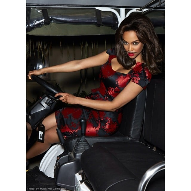 Tyra Banks geared up for another cycle of America's Next Top Model. Source: Instagram user tyrabanks