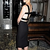 Pictures of January Jones and Dominic Cooper at Versace Dinner