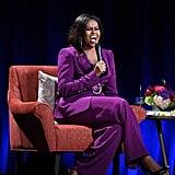 Michelle Obama's Purple Suit 2019