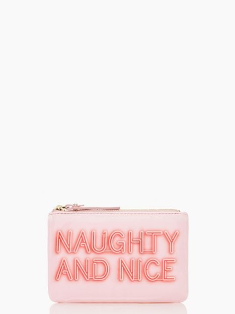 Naughty or nice, they deserve this Kate Spade Bring to Light Coin Purse ($50), don't they?