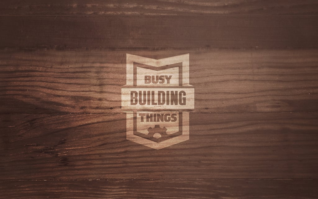 Wood by Busy Building Things