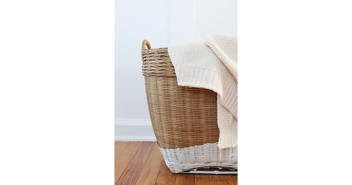 Fill A Basket With Throws How To Make Your Bedroom Cozy