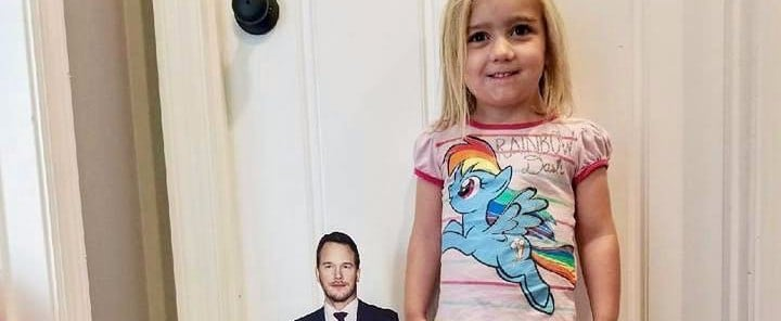 A Little Girl Has No Chill When It Comes to Her Crush on Chris Pratt — and It's So Cute