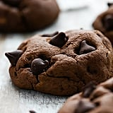 Fudgy Double Chocolate Chip Cookies