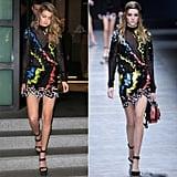 Gigi Hadid Wearing Fall '16 Versace