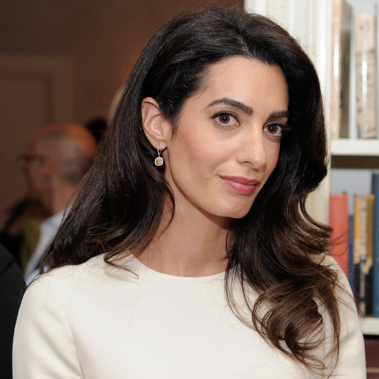 Amal Clooney Gucci Dress at Women in the World Event 2016