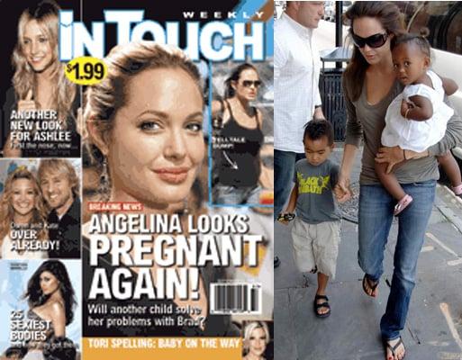Let the Angelina Pregnancy Rumors Begin