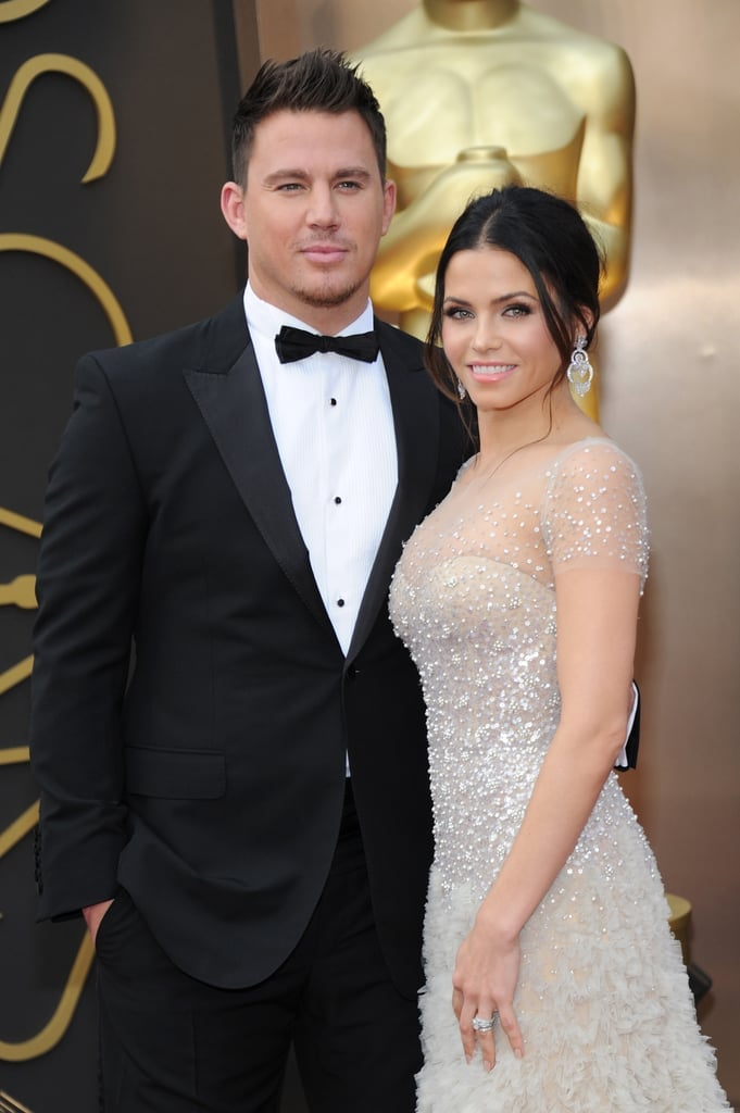 Channing Tatum and Jenna Dewan in 2014