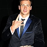 Ryan Lochte left Mahiki.