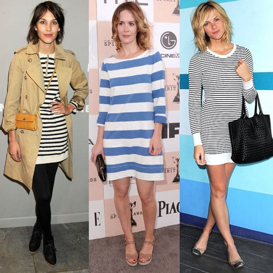 Shop Striped Dresses For Spring