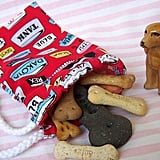 Retro Dog Treat Pouch