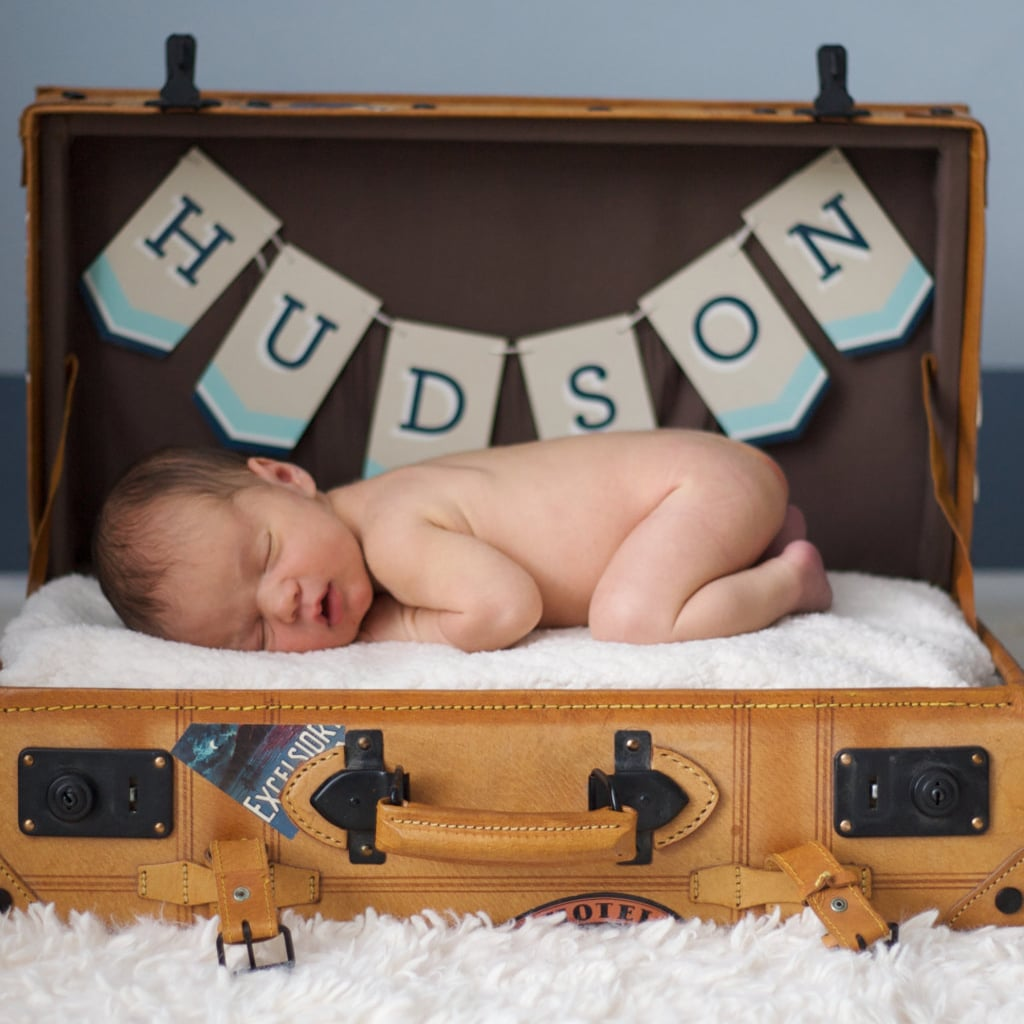 Photo props for babys first pictures popsugar family