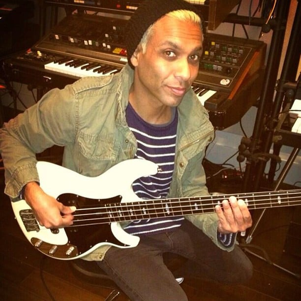 No Doubt's Tony Kanal scored some studio time. Source: Instagram user nodoubt