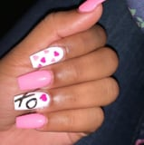 Come On Barbie, Let s Go Party! These Hot Pink Nails Are Perfect For Valentine s Day