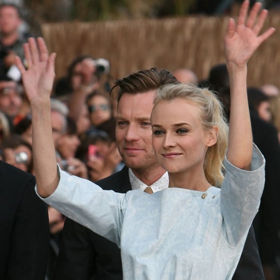 Diane Kruger on Le Grand Journal in Cannes Pictures