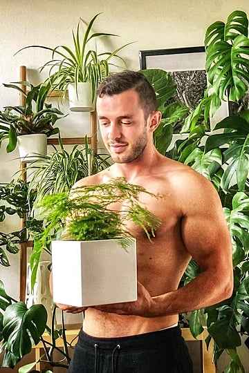 Hot Guy With Plants Instagram Account