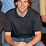 John Krasinski With the Cast of In the Wings in 2004